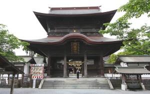 Aso Shrine Romon Gate