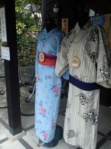 Rental yukata & bicycles