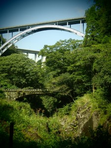 The 3 bridges of Takachiho