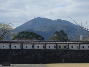 Kumamoto castle walls